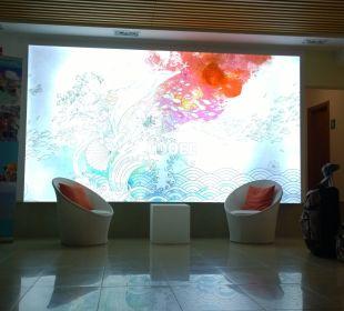 Eingangsbereich  COOEE Cala Llenya Resort Ibiza