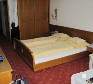 Schlafzimmer Hotel Bellevue & Austria