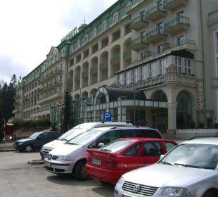 Vorderansicht Panhans Hotel Panhans