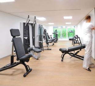 Fitnessraum Schlosshotel Monrepos