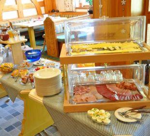 Frühstücksbuffet Landhaus Wildschütz