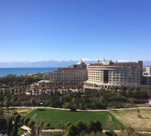 Ausblick von Zimmer 7021 Hotel Concorde De Luxe Resort