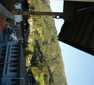 Ausblick vom Zimmer Landhotel Kaserer