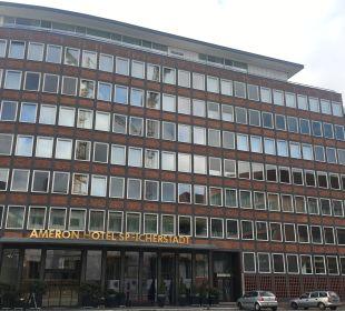 Außenansicht AMERON Hotel Speicherstadt Hamburg
