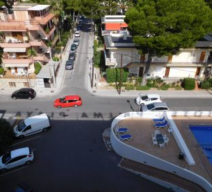Ausblick 5. Etage Hotel Palma Playa - Cactus