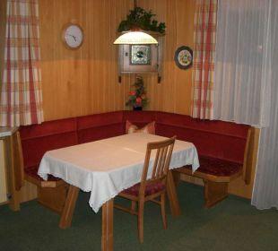 Sitzecke FeWo 4-5 Personen Ferienwohnungen Annelies