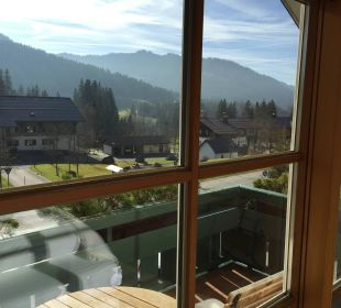 Balkon Hubertus Alpin Lodge & Spa