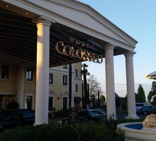 Eingang Hotel Colosseo Europa-Park