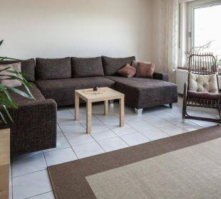 Wohnzimmer Ferienwohnung Schau Rhein