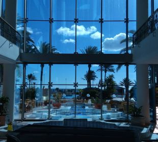 Ausblick Eingang SBH Hotel Costa Calma Palace