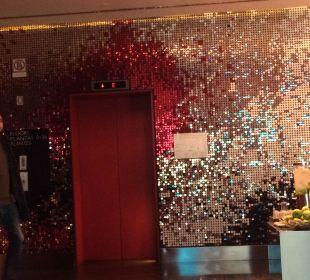 Aufzug W Barcelona Hotel