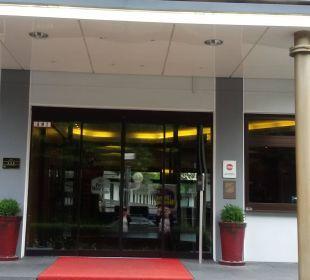 Eingangsbereich Best Western Hotel Hamburg International