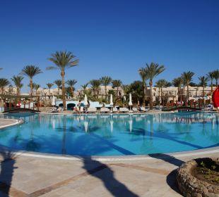 Im Winter unbeheizter Pool Hotel Iberotel Makadi Beach
