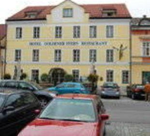 Vorderansicht Goldener Stern Hotel Goldener Stern