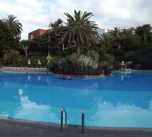 Blick zur Palmeninsel Hotel Hacienda San Jorge