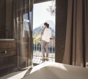 Ausblick vom Zimmer Richtung Kufstein Boutique Hotel Träumerei #8 by Auracher Löchl