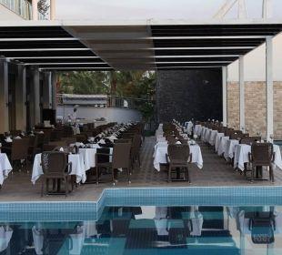 Außenbereich Hauptrestaurant Sensimar Belek Resort & Spa