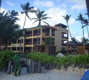 Vom Strand aus VIK Hotel Cayena Beach Club