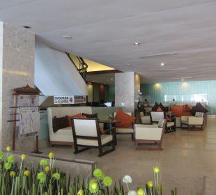 Im Eingangsbereich Hotel Grand Jomtien Palace