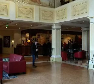 Rezeption Check-in/Check-out Hotel Colosseo Europa-Park