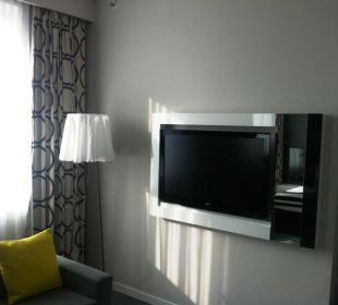 Fernseher im Deluxe-Zimmer