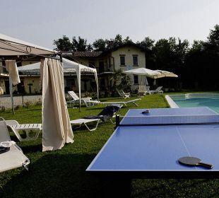 Pool und Tischtennis Agriturismo Cascina Vignole