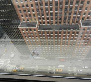 Blick vom Zimmer, 31.Stock (42st und 3rd  Avenue) Hotel Westin New York Grand Central