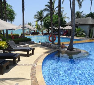 Blick Richtung Strand La Flora Resort & Spa