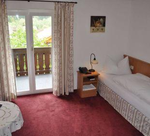 EZ mit Balkon Hotel Garni Malerwinkl