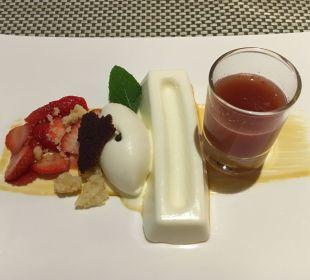 Dessert- ein Augenschmaus Luxury DolceVita Resort Preidlhof