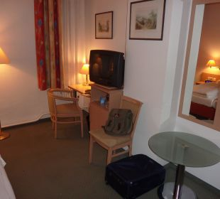 Schlafbereich Hotel Tiergarten Berlin