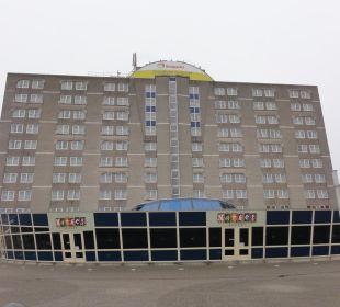 Hotel von vorne Center Parcs Park Zandvoort Strandhotel