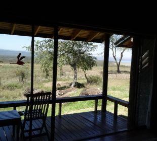 Schöner Blick zum Lake Nakuru Hotel Lake Nakuru Lodge