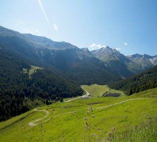 Landschaft Alpengasthof Pension Praxmar