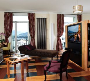 Junior Suite Art Deco Hotel Montana Luzern