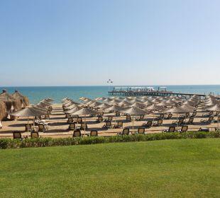 Ausblick auf den Strand Gloria Verde Resort
