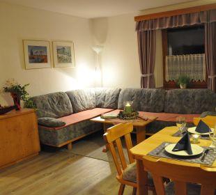 Wohnzimmer Appartement Graslitzen Gästehaus Seewinkel