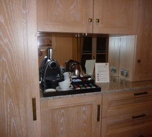 Kaffee und Teekochen im zimmer Zöglich Relais & Châteaux Hotel Bayrisches Haus