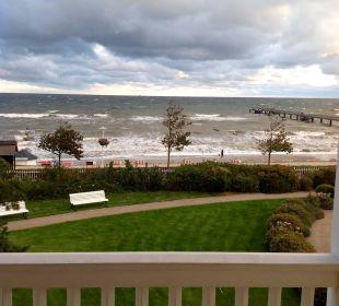 Die Ostsee im Herbst, vom Hotel aus Travel Charme Ostseehotel Kühlungsborn