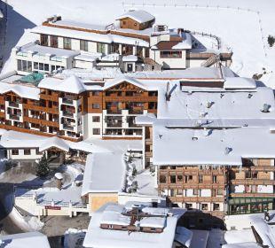 Der Blick von oben... Hotel Klausnerhof