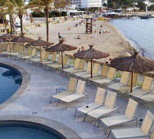 Vom Pool zum Strand Intertur Hotel Hawaii Ibiza