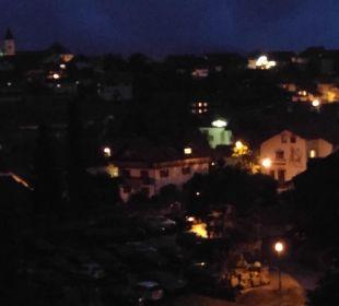 Blick vom Balkon bei Nacht Landhaus Meine Auszeit