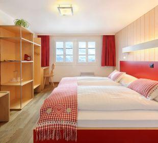 Doppelzimmer Hotel Berghaus Bort