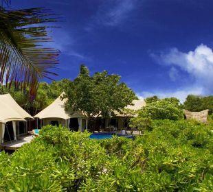 Villa mit Strand Hotel Banyan Tree Madivaru