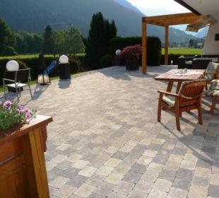 Unsere neue Terrasse!  Landhaus Rudigier