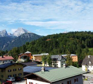 Blick vom Balkon auf den Watzmann Alpenhotel Fischer