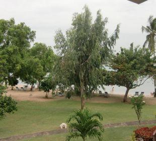 Nochmal Blick vom Balkon Hotel The Calabash