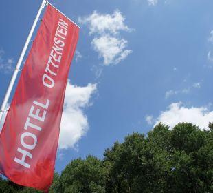 Ottenstein Fahne Hotel Ottenstein