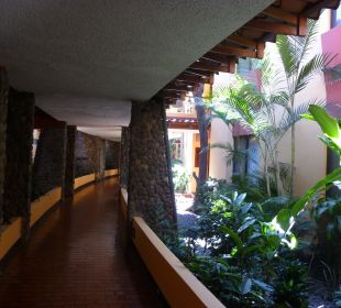Gang vor dem Zimmer DoubleTree by Hilton Hotel Cariari San Jose - Costa Rica
