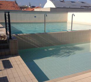 Kleiner aber sehr schöner Pool Hotel Eden Lido Di Jesolo